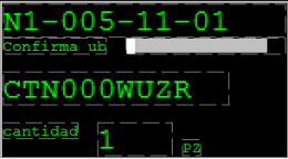 figura 10 - pantalla reformateada horizontalmente
